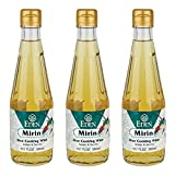 Eden Mirin, Rice Cooking Wine, Traditionally Made in Japan, Umami, 10.1 fl oz glass bottle (3-Pack)