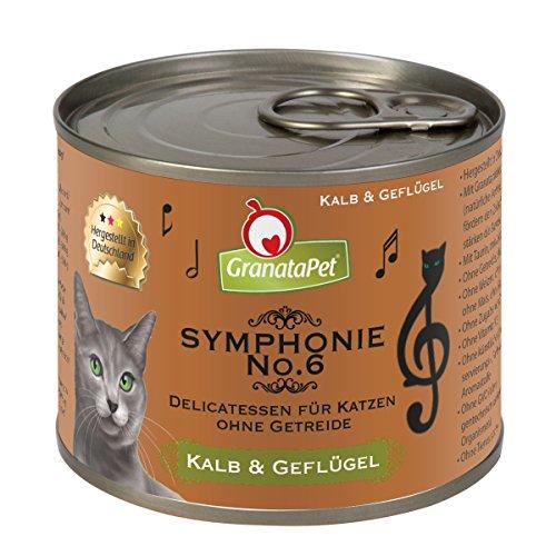 Symphonie No. 6 Kalb & Geflügel in natürlichem Gelee, 6er Pack (6 x 200 g)