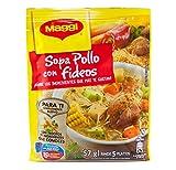 Maggi Sopa de Pollo con Fideos Chicken Noodle Soup (12 Pack)