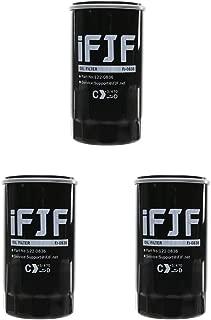 iFJF 122-0836 Oil Filter for HGJAA HGJAB HGJAC Cummins Onan Generator Replace OEM 122-0836 01220836(Set of 3)
