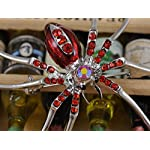 Alilang Enamel Crystal Rhinestone Halloween Spider Fashion Jewelry Pin Brooch 7