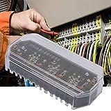 Contenitore elettrico per misuratori domestici, scatola di giunzione per fila terminale, strumento elettrico di protezione relè per scatole contalitri(DFY1+Electric cover)