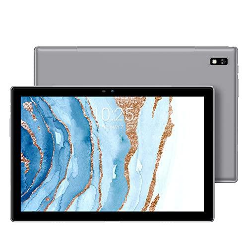 Blackview Tab9 Tablette Tactile 10.1 Pouces 8 Cœurs 1,8 GHz Android 10 Doke OS_P 1.0 7480mAh Double 4G LTE 5G WiFi 13MP+5MP 1920x1200 4Go RAM 64Go ROM (SD 128Go) Bluetooth 5.0/ GPS/Face ID/OTG