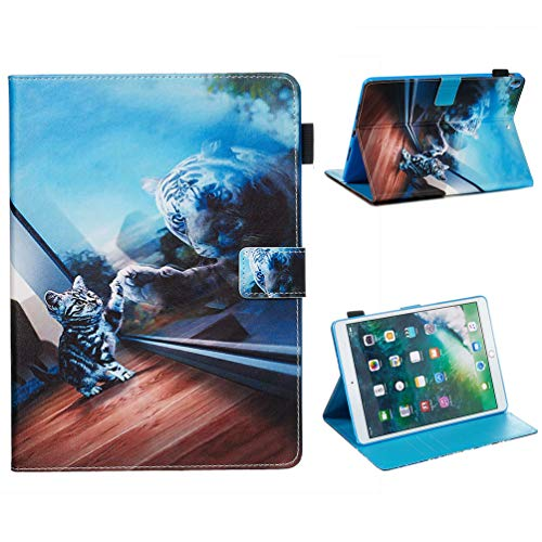Vogu'SaNa Compatible for Tablet Case iPad Air 2019 PU Leather Case Protective Cover Painting Pattern Flip Cover Case Stand Card Slots Magnetic Cover Shell Sleeves