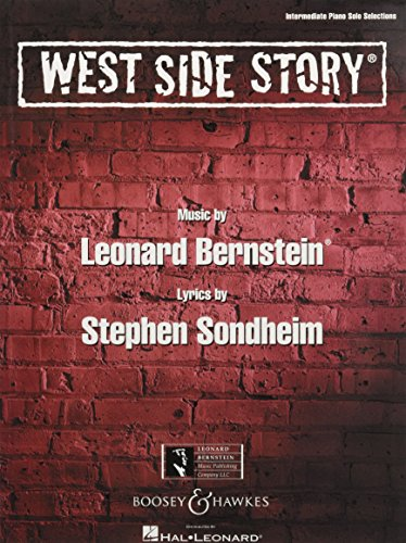 West Side Story: Piano Solo Songbook. Klavier.