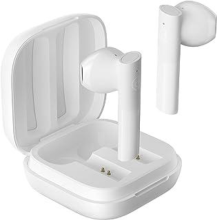 HAYLOU GT6 Auriculares inalámbricos con Bluetooth 5,2, Dispositivo de Audio de Baja latencia, Emparejamiento automático, Sonido estéreo Mono y AAC (Blanco)
