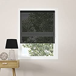 Solar shades such as these are a great RV upgrade for keeping the sun out on a hot day