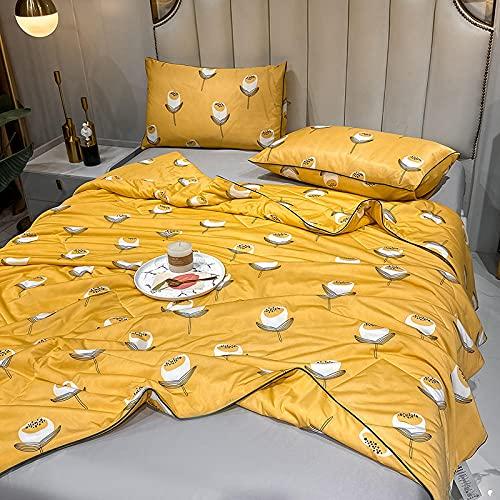 Manta de Microfibra Color sólido, Extra Suave Mantas para Sofás, Multifuncional para sofá, Cama, Viajes, Adultos, niños -Loto_150 * 200 cm