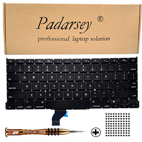 Padarsey Replacement Keyboard Compatible for MacBook Pro A1502 13