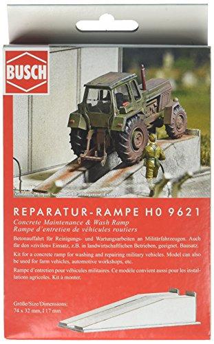 Busch-9621 Wash and Manteca Ramp Ho Scenery Modèle à échelle réduite, 9621