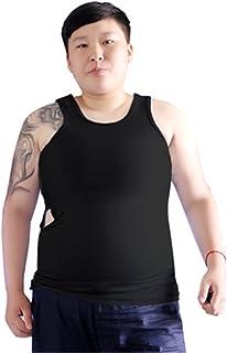 Tomboy Trans Lesbian Bamboo Charcoal Fiber Chest Binder Corset Talla Grande Tank Top