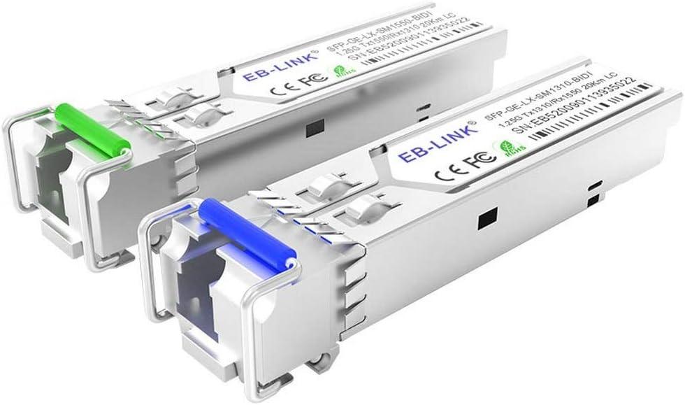 EB-LINK Discount mail order 1 Pair Brand new GLC-BX-U GLC-BX-D 1.25G 10KM 1550nm W BIDI 1310