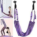 Tacohan Correa para Yoga estirador de piernas Ajustable Entrenador de Asistencia para la flexión de la Espalda para moldear el Estado físico, pérdida de Peso, Yoga, Pilates, Ballet, Danza, Gimnasia