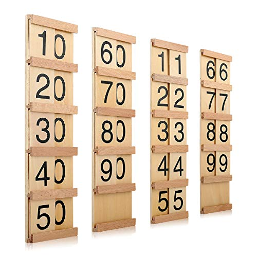 Montessori Math Material Teen & Ten Boards Educational Toy for