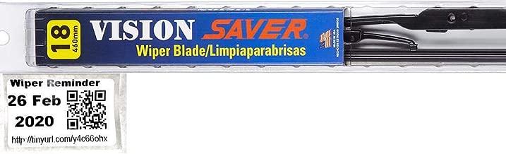 Vision Saver - Passenger Windshield Wiper Bundle - 2 Items: Passenger Blade & Reminder Sticker fits 1995-1999 Chevrolet Tahoe