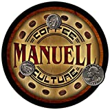 Manuell Coffee Culture Personalized Neoprene Drink Coasters
