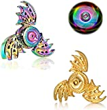 Dragon Fidget Spinners Metal, Fidget Spinner Gifts for Adults and Kids,Anti Stress Anxiety ADHD Relief Figets Toy, Finger Hand Spinner Toys Small Gadget