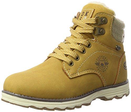 Dockers by Gerli Unisex 41TE702 Combat Boots, Gelb (Golden Tan 910), 36