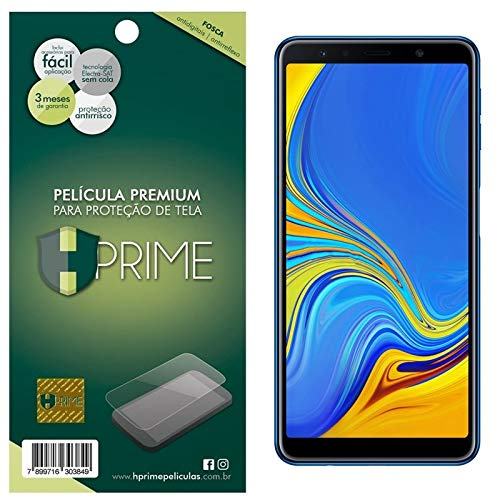 Pelicula Hprime Fosca para Samsung Galaxy A7 2018, Hprime, Película Protetora de Tela para Celular, Transparente