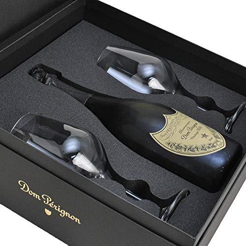 ドンペリニヨン (ドンペリ) 白 特製グラス2脚付き ギフト箱入り 正規品 750ml