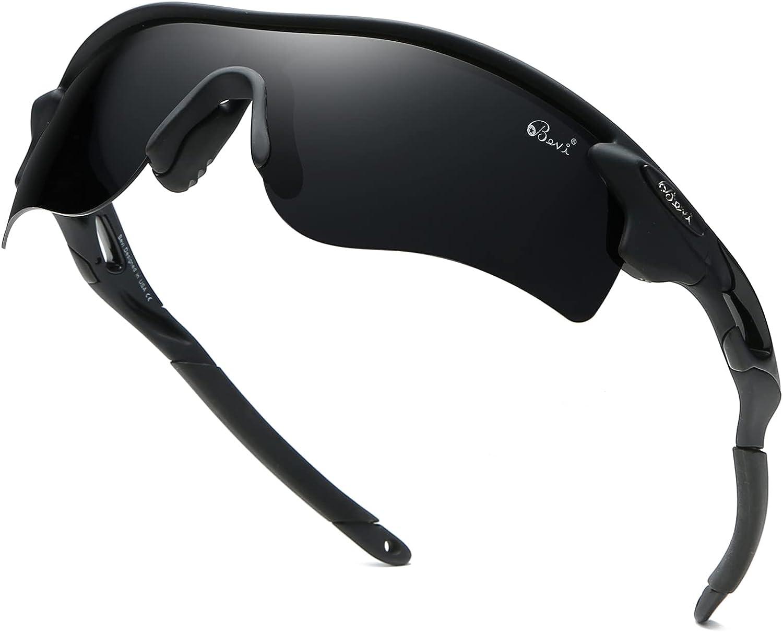 Polarized Sports Sunglasses TR90 Cycling Frame Houston Mall Runnin Ultralight Mail order