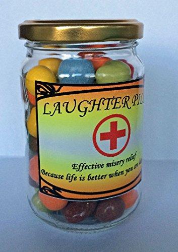 Rire Plaquettes Jar – Produit de la nouveauté Funny cadeau Présent