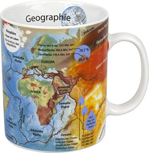 Könitz Taza de café, diseño de geografía