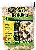 Zoo Med Laboratories Inc-Aspen Snake Bedding- Natural 4 Quart