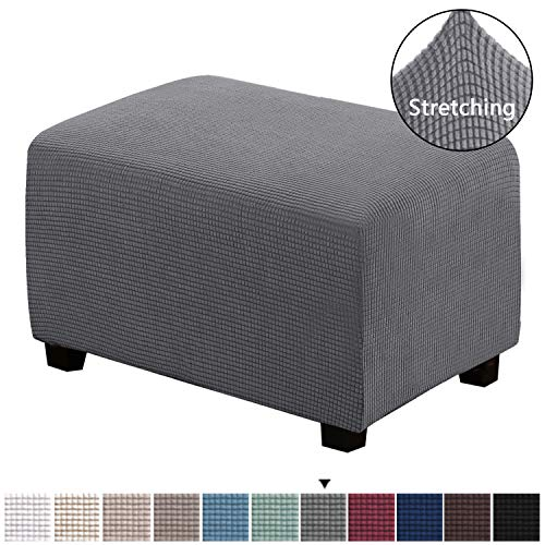 Breathable Bar Stool Cover 13 Inch Round Comfort Chair Seat Slipcover Stripe