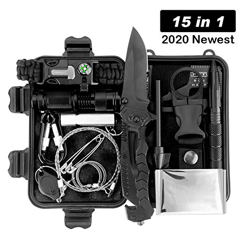 Kit de supervivencia LC-dolida 15 en 1, kit de supervivencia