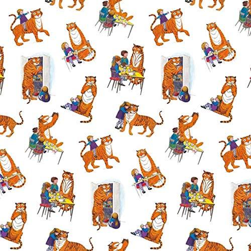 The Tiger Who Came to Tea - 4 hojas de papel de regalo de lujo