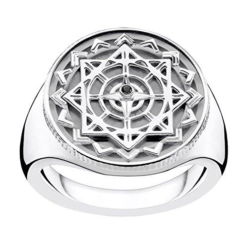 THOMAS SABO -Verlobungsringe 925 Sterlingsilber '- Ringgröße 62 D_TR0041-714-11-62