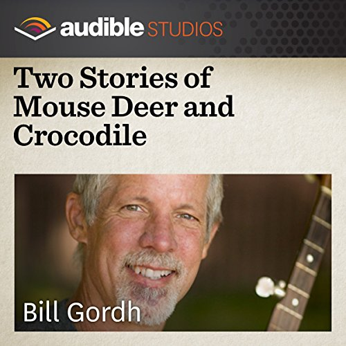 Two Stories of Mouse Deer and Crocodile audiobook cover art