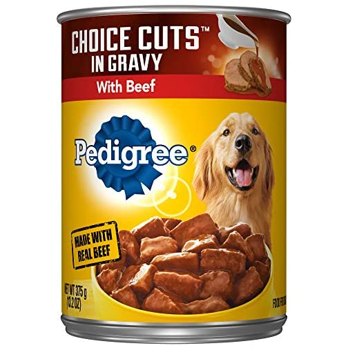 PEDIGREE CHOICE CUTS IN GRAVY Adult Canned Wet Dog Food, 13.2 oz. (Pack of 12) 3