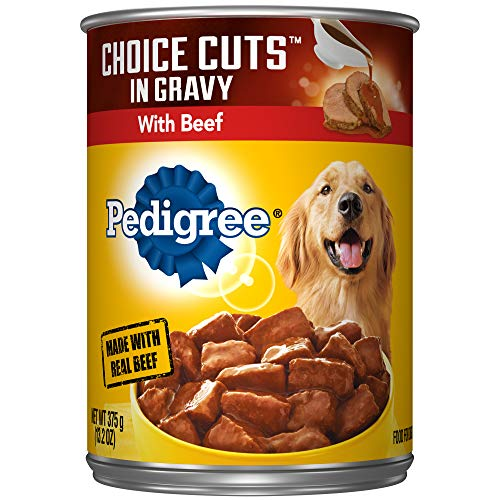 PEDIGREE CHOICE CUTS in Gravy Adult Canned Wet Dog Food with...