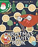 Christmas Activity Book: A Fun Christmas Workbook for Kids Ages 3-5 with Santa Claus, Spot the Differences, Matching, Mazes, I Spy, Crosswords, Puzzles and More!