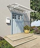 Palram Bordeaux White Door Canopy 2230
