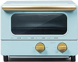 ASKLKD Mini Horno Hogar Multifuncional Escritorio Torta Pan Banking Machine 10L Capacidad 30 Minuto Temporizador Cocina Cocina 1000W (Color : Blue)