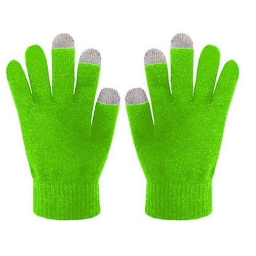 guanti verdi Celly Guanti per Touchscreen Taglia S/M