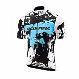 Uglyfrog 2018 Manga Corta Maillot Ciclismo De Hombre Verano Ropa De Triatlon Transpirables DXMZ01