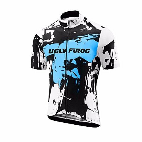 Uglyfrog 2018 Manga Corta Maillot Ciclismo De Hombre