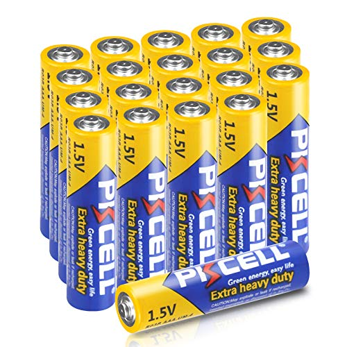 PKCELL 20Count AAA 1.5V Battery R03P Zinc Carbon Dry Battery