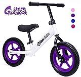 Gostorechoice Kids Balance Bike for Boys & Girls 1-5 Years Old No Pedal Learn to Ride Pre Bike W/EVA Wheels...