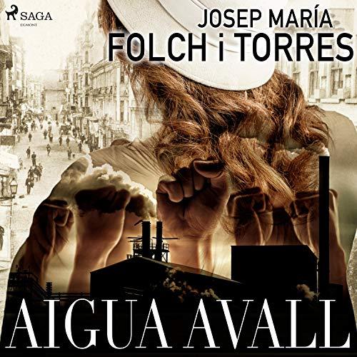 Diseño de la portada del título Aigua Avall