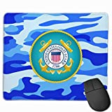 United States Coast Guard 1790 Nonslip The Mouse Padfor Computer Laptop Home Office Gaming Working,Waterproof Gaming Mouse Pad for All Types of Mouse Laptop Computer 11.81 X 9.84 Inches