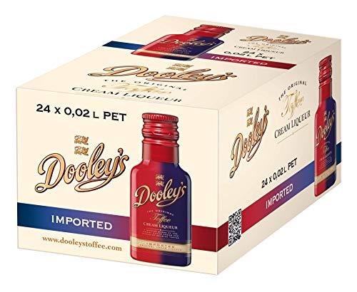 Dooley's Original Toffee Cream Liqueur 24 x 0.02 l