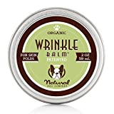 Natural Dog Company - Wrinkle Balm | Protects Dog's Skin Folds, Treats Dermatitis, Redness, Chafing, Inflammation | Organic, All-Natural Ingredients, Perfect for Bulldogs - 2 Oz Tin