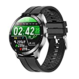Gulu 2021 Smart Watch Fitness Tracker Ritmo Cardíaco Sleep Monitor Multi-Sport Hombres Impermeables Mujeres Smartwatch para iOS Android,D