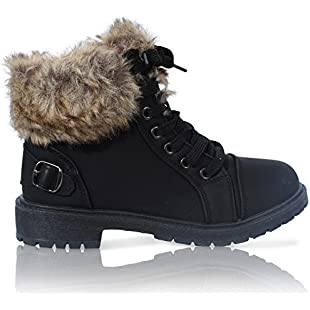 Customer reviews LADIES FAUX FUR GRIP SOLE WINTER WARM ANKLE WOMENS BOOTS TRAINERS SHOES SIZE 3-8