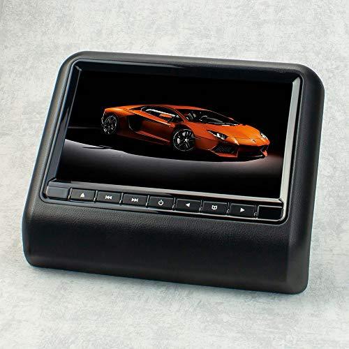 22,9cm 9' Auto Kopfstützen Monitor Display für DVD Player USB SD (schwarz) mit FM-/IR-Transmitter